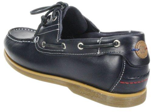 Wrangler up lace Herren Leder Schuhe, casual Boot Marineblau