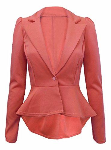 My1stWish Damen Blazer Pink Coral 44