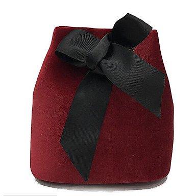 SUNNY KEY-Borsa a tracolla @ Donna Borsa a tracolla PU (Poliuretano) Poliestere Per tutte le stagioni Casual Rotondi Cerniera Verde Nero Rosso , green black