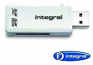 Integral AMINCRSD SD (Secure Digital) Single Slot Reader, Frustration-Free Packaging