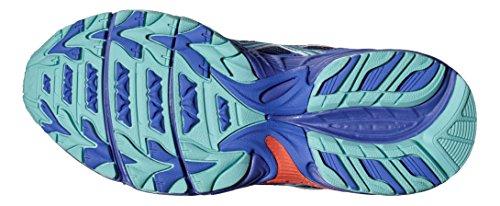 Asics Gel-Venture 5 Gs, Chaussures de Tennis Mixte Enfant, Noir Violet Lilas Parme