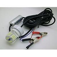 Sumergible LED lámpara de pesca de peces Atractor luz nocturna buscador de peces resistente al agua 12–24V 30W, Verde