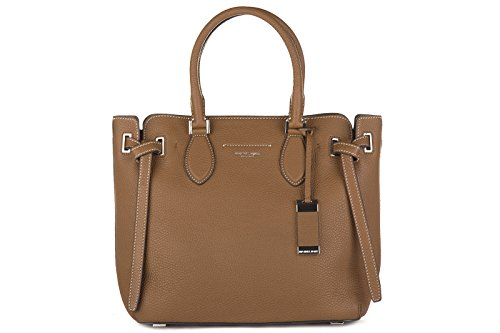 df4816691f99 Michael Kors women's handbag bag purse shopping in in leather rogers brown