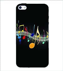 PRINTSWAG MUSIC Designer Back Cover Case for APPLE IPHONE 4 G355H