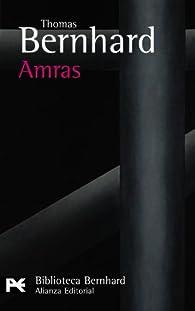 Amras par Thomas Bernhard