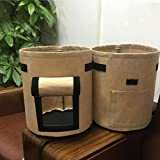 JAGETRADE 7 Gallon Non Woven Planting Bag Potatoes Cultivation Pot Big Capacity Vegetable Growing Home Gardening Accessory