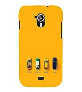 EPICCASE City Taxi Mobile Back Case Cover For Micromax Canvas 2 A110 (Designer Case)