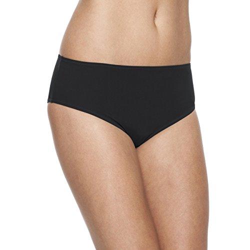 Rosa Faia Damen Comfort Bottom Bikinihose, schwarz 001, (Herstellergröße: 40) -