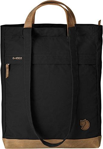 Fjällräven Tasche Totepack No.2, 24229-550, schwarz (Black), 14 x 33 x 42 cm, 16 liters, One Size -