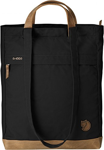 Totepack No.2, 24229-550, schwarz (Black), 14 x 33 x 42 cm, 16 liters, One Size ()