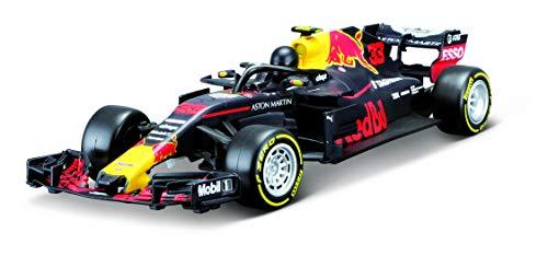Bauer Maisto Tech R/C Red Bull RB14 \'18: Ferngesteuertes Auto Max Verstappen 1:24, Original Formel 1, 22 cm, schwarz (581380)