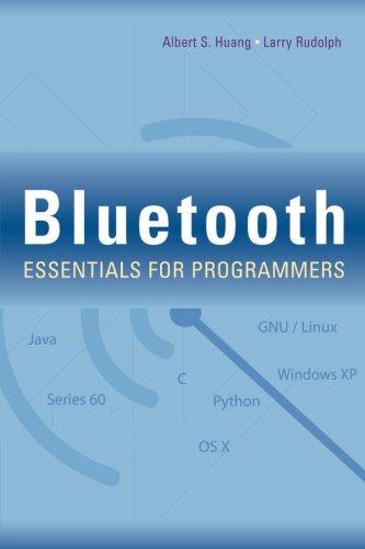 Preisvergleich Produktbild Bluetooth Essentials for Programmers