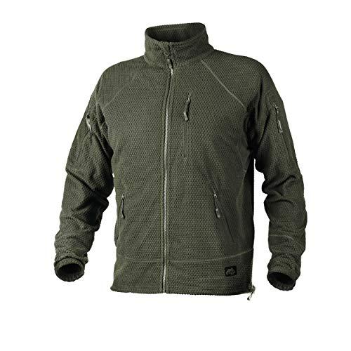 Helikon-Tex Alpha Tactical -Grid Fleece- Jacke Olive Green -