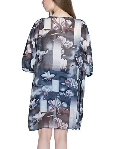 Copricostumi e parei Donna Costumi Da Bagno Abito Da Spiaggia Beach Cover up Chiffon Camicia da Donna Taglia Unica-LATH.PIN 54