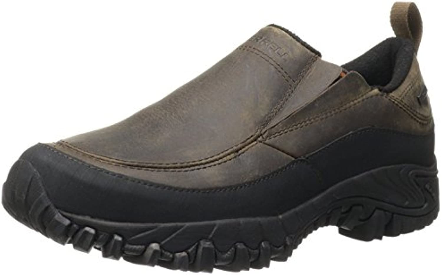 Merrell Men's Shiver Moc Waterproof Slip On  Braun  50 DM EU/14 DM UK