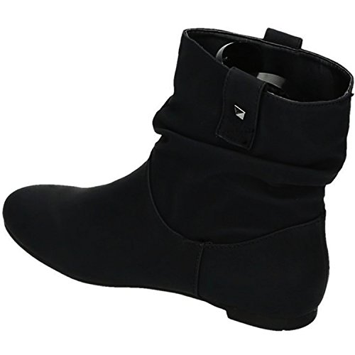 King Of Shoes, Bottes de Neige Femme Schwarz