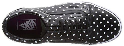 Vans Old Skool, Baskets Basses Mixte Adulte Noir (Polka Dots/Black)