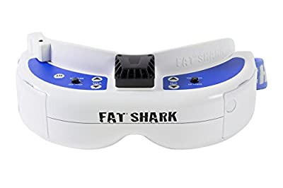 Fatshark 17000300 – Dominator V3 FPV Video Glasses with Battery by Fatshark