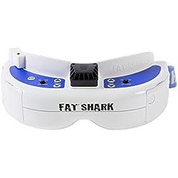 FAT SHARK Rastamouse Hark–17000300–Dominator V3FPV Gafas de vídeo con batería