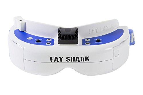 FAT SHARK Rastamouse Hark-17000300-Dominator V3FPV Gafas de vídeo con batería