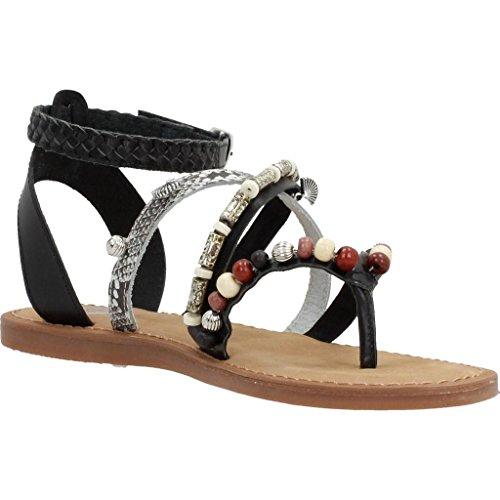 Sandales, couleur Noir , marque GIOSEPPO, modèle Sandales GIOSEPPO ANITA 4 Noir Black
