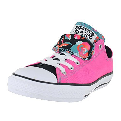 28205925c337a Converse Unisex Chuck Taylor All Star Ox Low Top Classic Neon Pink White  Black Sneakers -