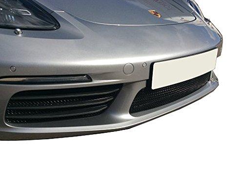 2012 à 2016 Calandre centrale Porsche Boxster 981 Finition noir