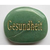 Wunscherfüllungsstein Aventurin mit Gravur Gesundheit 3,5-4 cm preisvergleich bei billige-tabletten.eu