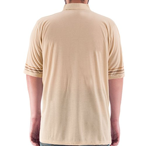 Romesa Polo Shirt Übergröße 3XL-5XL Beige