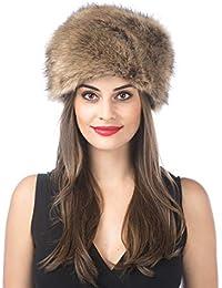 Lucky Leaf Dicke Cossak warme weiche Kappe russischen Stil Winter Hut Ohrenschützer für Damen Frauen