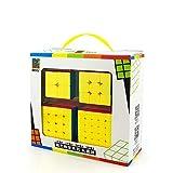 moyu MoFangJiaoShi MFJS Stickerless Geschwindigkeit Cube Bundle 2x2 3x3 4x4 5x5 Zauberwürfel Cubing Klassenzimmer Smooth Puzzles