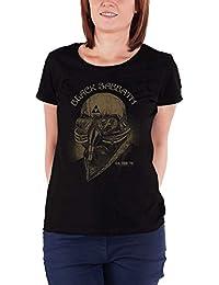 Black Sabbath T Shirt US Tour 78 Official Womens Skinny Fit Black