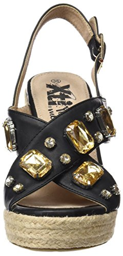 XTI 046621, Scarpe Col Tacco Donna Nero