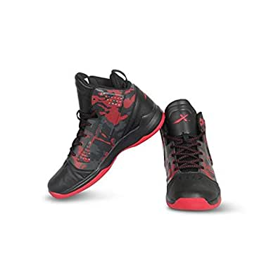 Vector X BB-19-BLK-RED-6 Mesh Basketball Shoes6 UK (Black-Red)