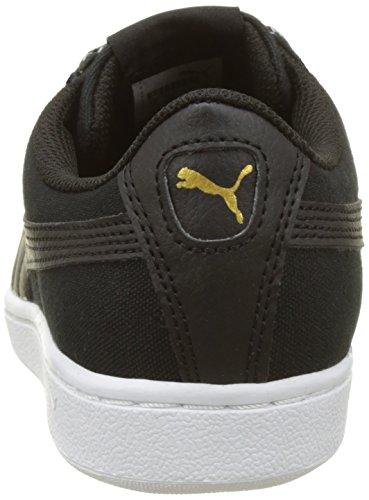 Puma Damen Vikky Spice Sneakers Schwarz (puma black-puma black 02)