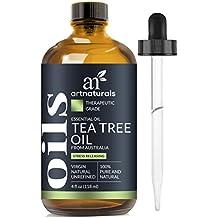 ArtNaturals Olio Essenziale Di Tea Tree Puro e Naturale 120 ml - Melaleuca Australiana Di Grado Terapeutico Qualità Premium