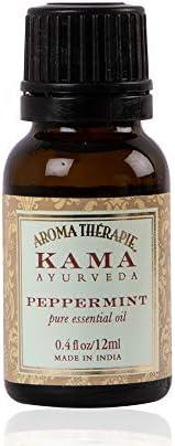 Kama Ayurveda Peppermint Pure Essential Oil, 12ml