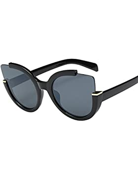 Topgrowth Uomo Donna Vintage Retro Occhiali Unisex Moda Aviatore Lente a specchio Occhiali
