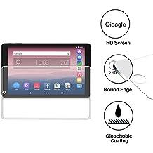 Qiaogle Premium Vidrio Templado Protector de Pantalla para Alcatel Pixi 3 (10.0 Pulgadas) Cristal Templado Screen Protector [de 9H La dureza * 2.5D Ronda Edge * Anti-rasguños]