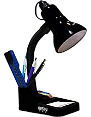 ESN 999 Stylish Black Table Lamp For Home/Office/Study,Black