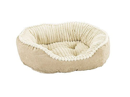 carved-plush-cuddler-step-in-bed-26x21x7-tan