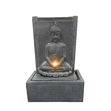 CDaffaires fuente placa Buda sentado LED 50* 23* H81cm 3