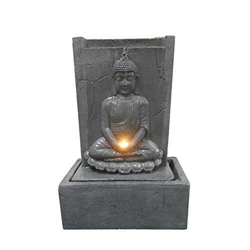 CDaffaires fuente placa Buda sentado LED 50* 23* H81cm