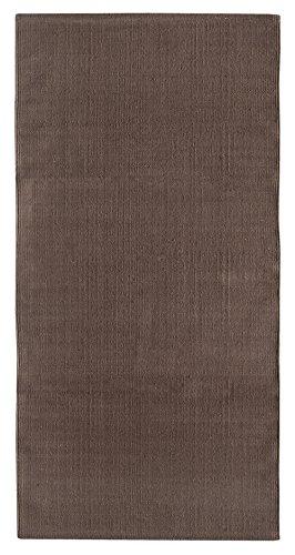Andiamo Handwebteppich Milo, Läufer, 100% Baumwolle Fácil de cuidar y Lavable, Color Liso, algodón...