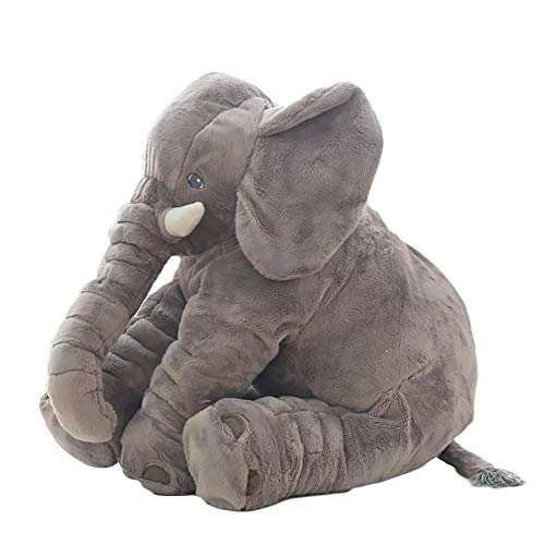 Elephant Pillow for Big Stuffed Animals Elephant Stuffed Toys Kids Figures Elephant Decoration Stuffed Filled Pillows Kids Plush Floor Cushion for Kids