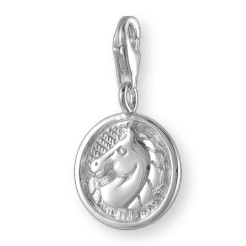 Melina Damen-Charm Anhänger Pferd 925 Sterling Silber 1800782