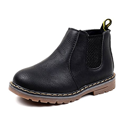 Sabe Boys Girls Zipper Sneaker Boots Soft Rubber Sole Waterproof Casual Shoes Trainers(Toddler/Little Kid/Big Kid)
