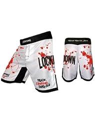 "Lockdown fightwear ""Carnage Shorts de Combat MMA pour homme Taille M"