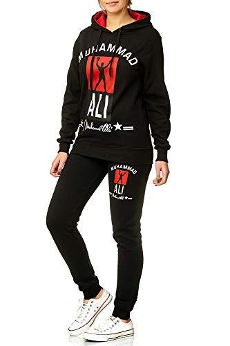 Damen Trainingsanzug   Muhammad Ali 2013   (S- fällt größer aus, Schwarz) -