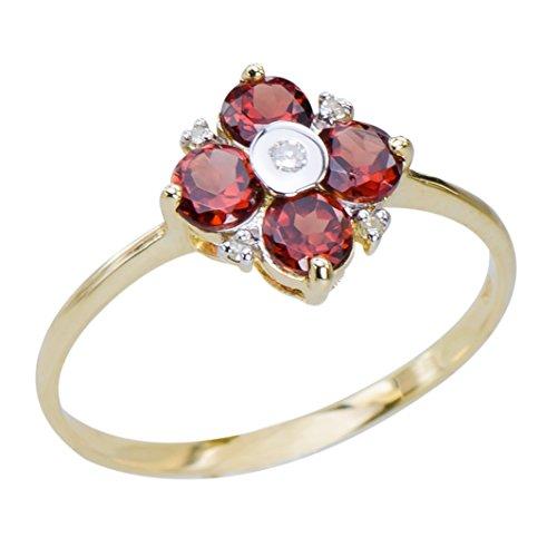 rote-granat-ring-gold-10k-stilvolle-damen-schmuck-geschenk